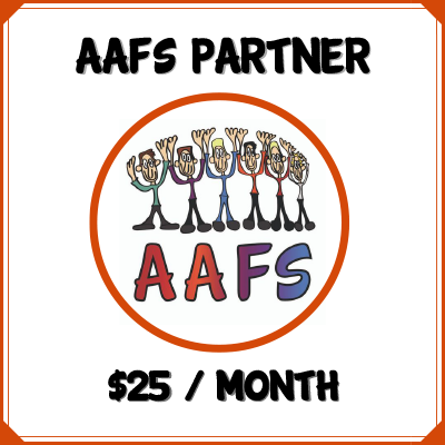 click here to become an AAFS Partner